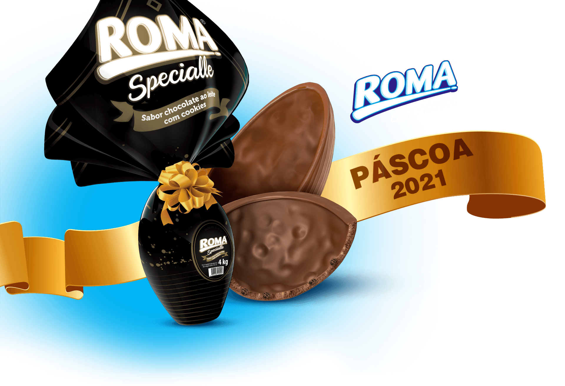 Chocolates Roma Páscoa 2021