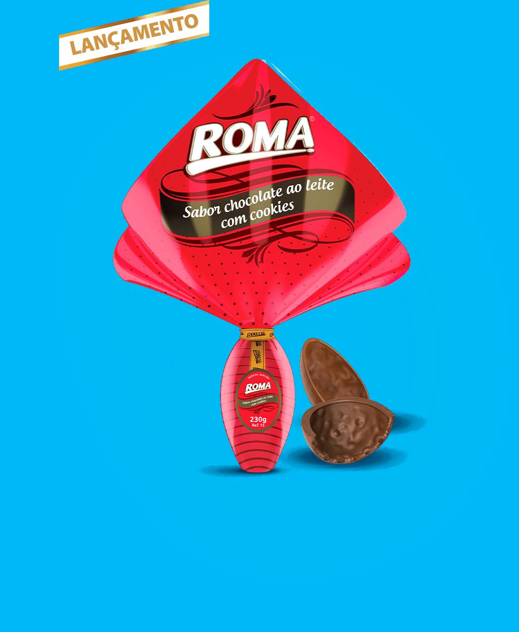Ovo Roma ao leite 230g