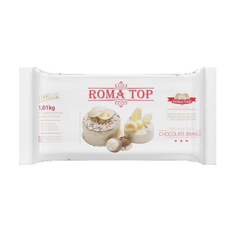 Roma Top Branco barra